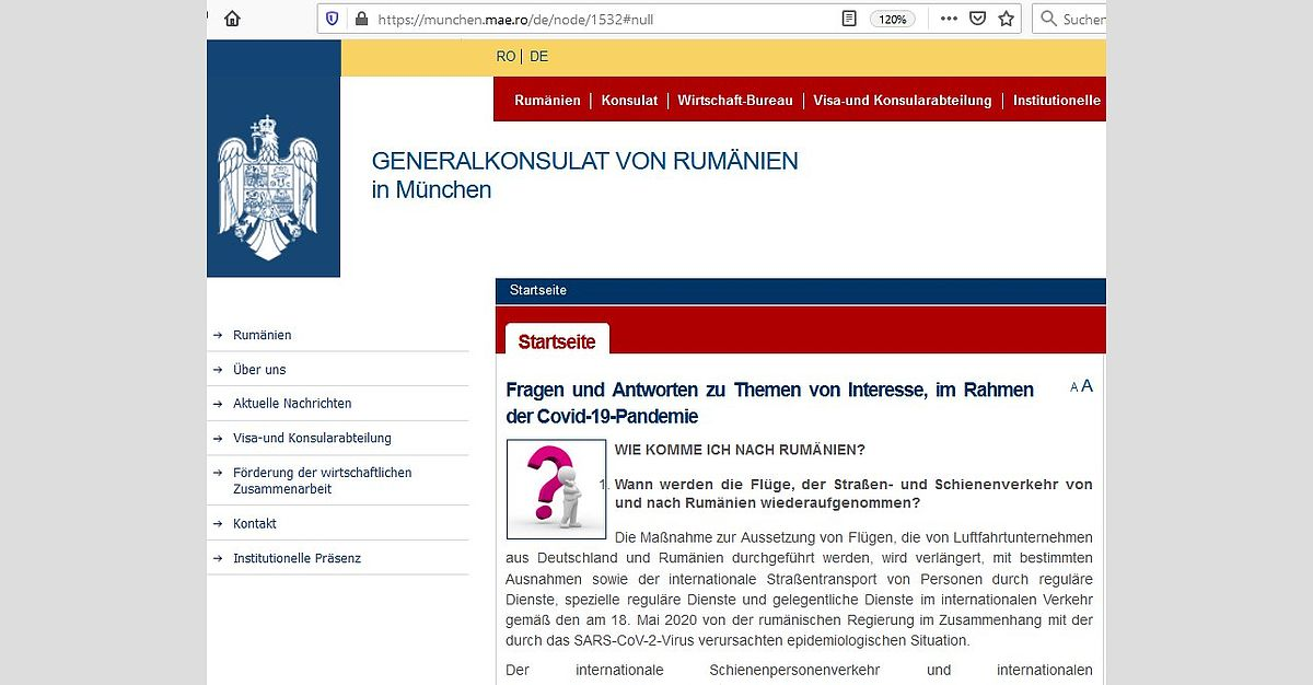 Reisebestimmungen Innerhalb Deutschland