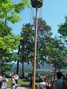 Beste Stimmung beim traditionellen Kronenfest in L�rrach.