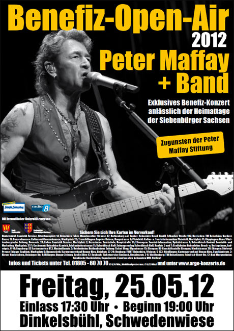 Benefiz-Open-Air mit Peter Maffay