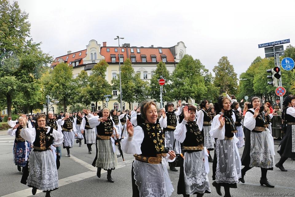 Oktoberfestumzug München 2021