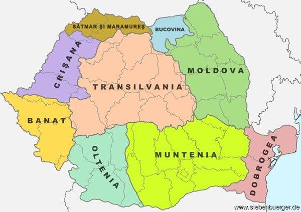 rumänien landkarte Landkarten und Wappen aus Siebenbürgen   Rumänien   Landkarte mit  rumänien landkarte