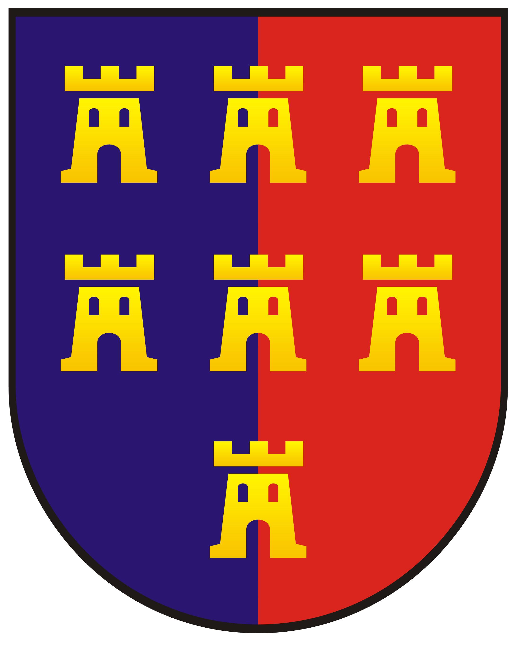 Verband der Siebenbürger Sachsen - Wappen, Aufkleber, T-Shirts ...