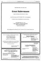 Todesanzeigen Gummersbach